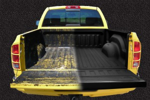 Truck Bed Liner Before And After - st. george truck bed liner