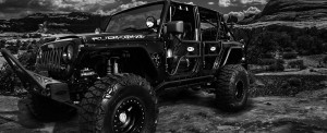 Black Jeep In The Desert - st. george off-road accessories store