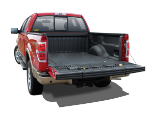 Red Truck With Black Bedliner - truck bed liner st. george