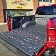 red truck bed liner - truck off-road accessories St. George