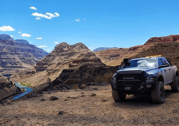 View of the North Rim St. George - St. George off-road accessories
