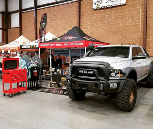 RAM Truck At Show - off-road truck accessories st. george
