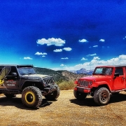 two jeeps in the desert - truck off-road accessories St. George