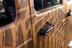 Brown Body Armour On Jeep - st. george off-road suv accessories