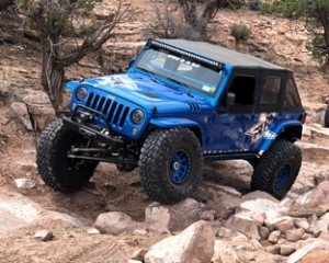 Blue Off-Road Vehicle - st. george off-road suv accessories
