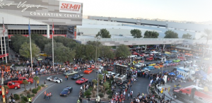 People At Sema Convention Center - utah 4 wheel parts