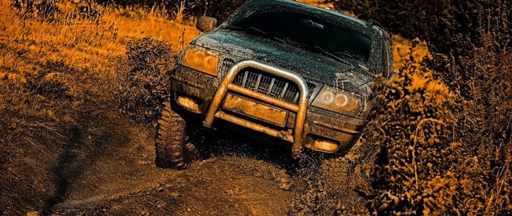 Off-Roading In Mud - 4 wheel parts utah
