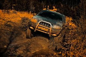 Off Roading In The Mud - 4 wheel parts utah